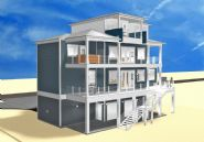Dubois coastal transitional piling home on Navarre Beach by Acorn Fine Homes  - Thumb Pic 3