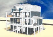 Dubois coastal transitional piling home on Navarre Beach by Acorn Fine Homes  - Thumb Pic 4