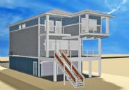 Smith coastal modern piling home on Navarre Beach by Acorn Fine Homes - Thumb Pic 11