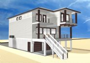 Smith coastal modern piling home on Navarre Beach by Acorn Fine Homes - Thumb Pic 3