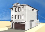 Smith coastal modern piling home on Navarre Beach by Acorn Fine Homes - Thumb Pic 2