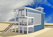 Smith coastal modern piling home on Navarre Beach by Acorn Fine Homes - Thumb Pic 12