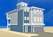 Smith coastal modern piling home on Navarre Beach by Acorn Fine Homes - Thumb Pic 13