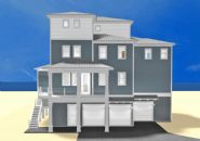 Dubois coastal transitional piling home on Navarre Beach by Acorn Fine Homes  - Thumb Pic 1