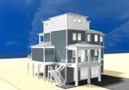 Dubois coastal transitional piling home on Navarre Beach by Acorn Fine Homes  - Thumb Pic 5