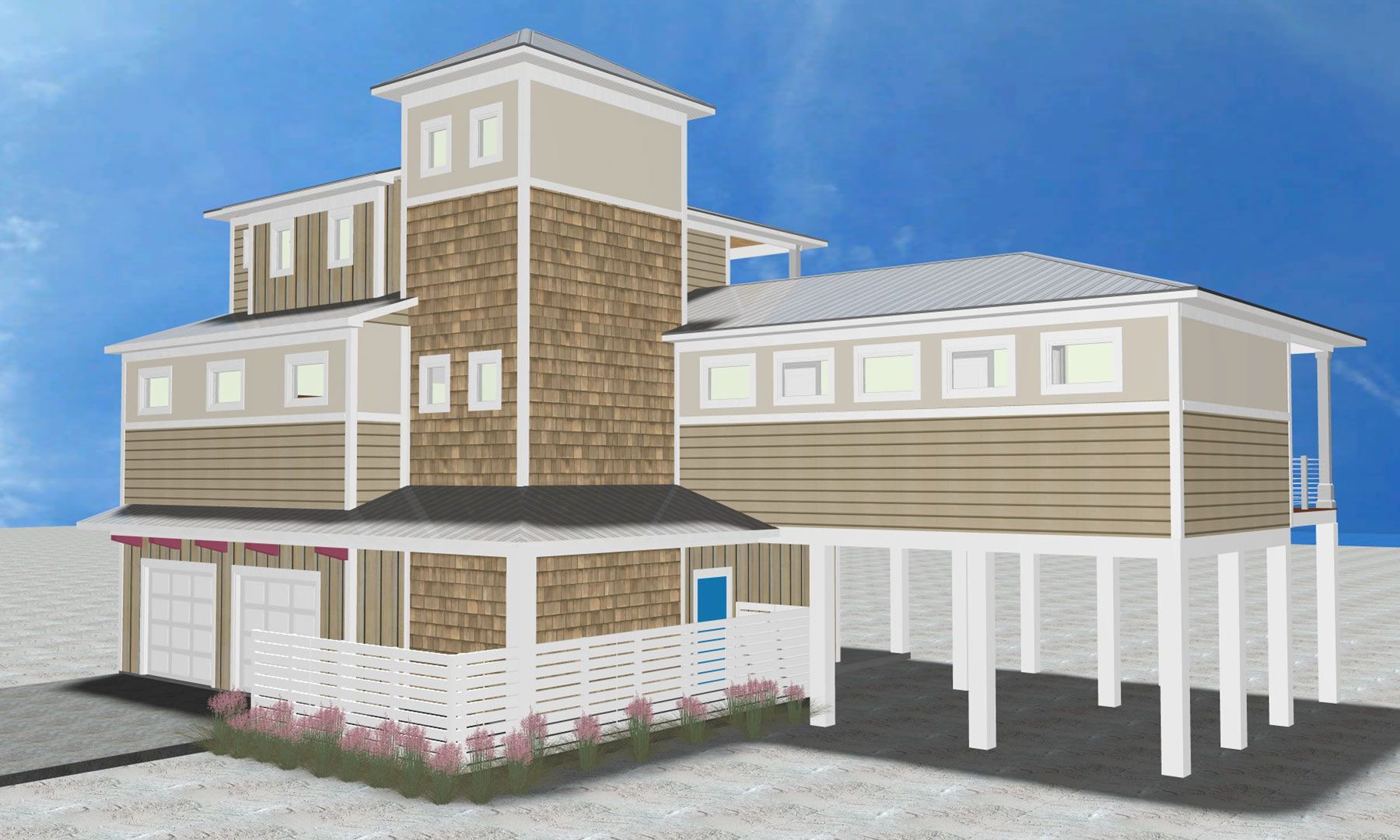 Burchard residence on Navarre Beach