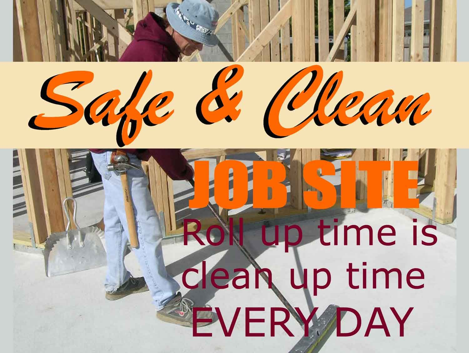 acorn construction safe clean job sites construction process safe clean job sites